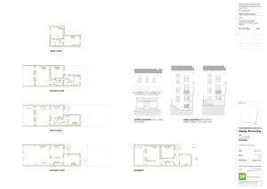 1494(EX)007 Existing Plans & Elevations