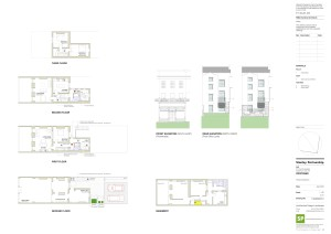 1494(SK)012 Plans and Elevations